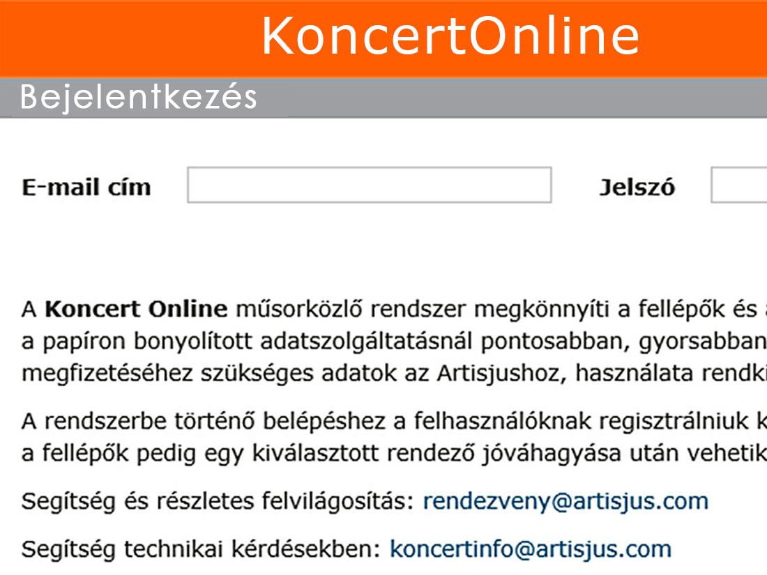 koncertonline | Artisjus | Márton András