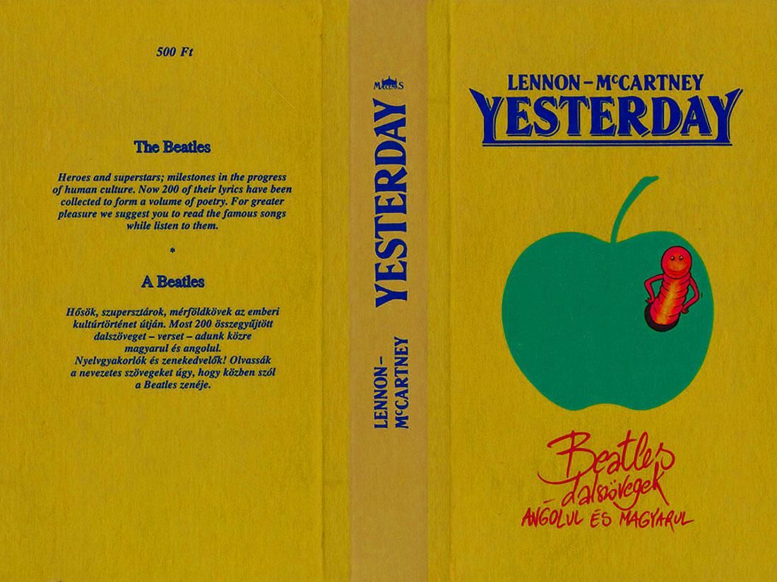 Beatles angolul és magyarul | Yesterday | Márton András